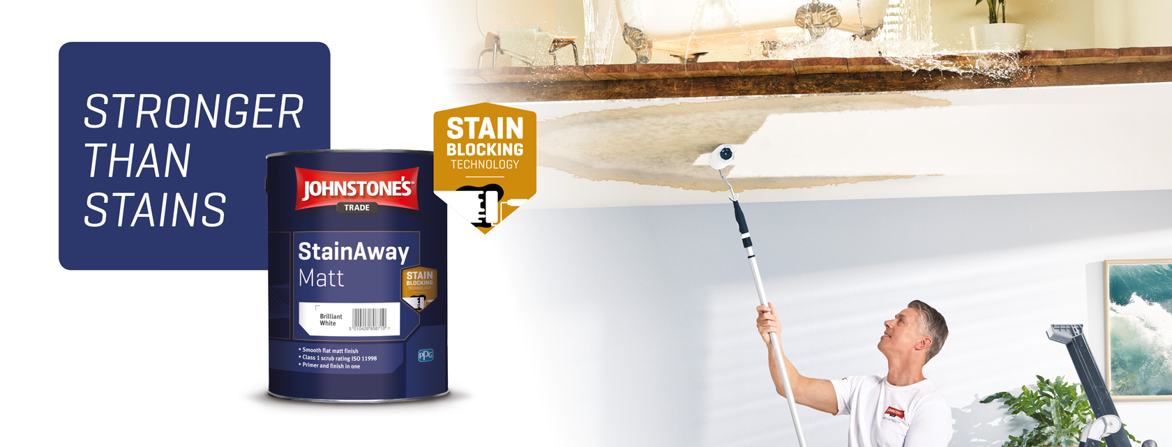 Johnstone's Trade StainAway: Our New Stain Block Paint for